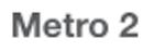 metro 2 logo