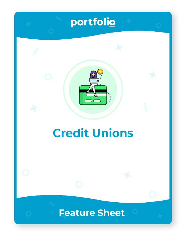 Portfolio+ software for credit unions