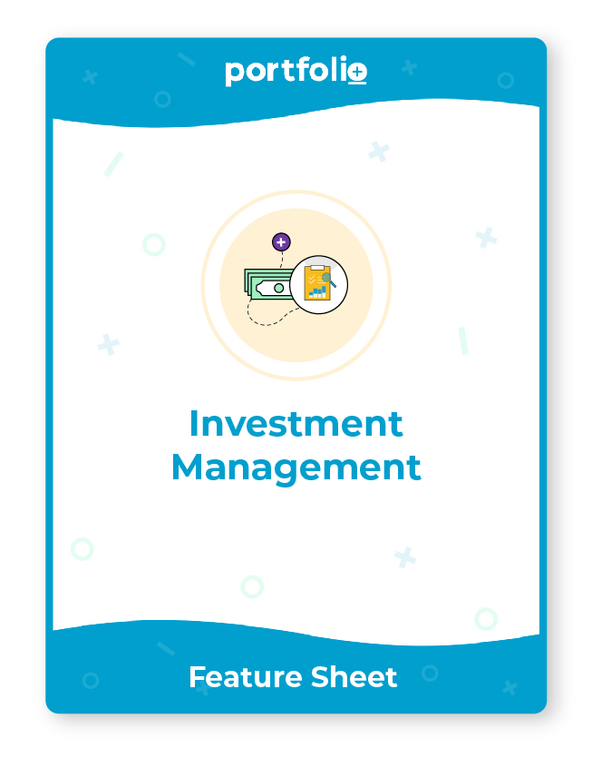 Portfolio+ software for investment management firms
