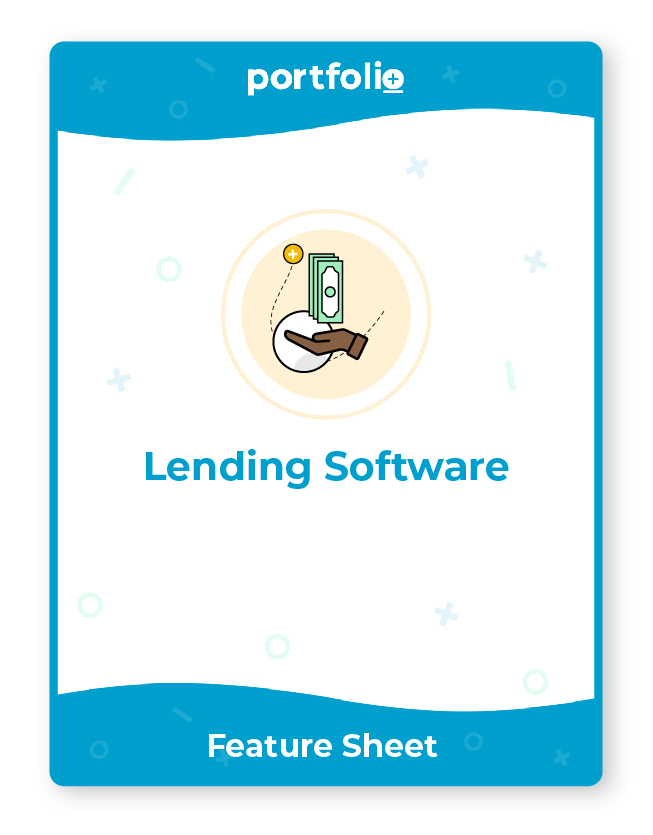 Portfolio+ software for lending companies