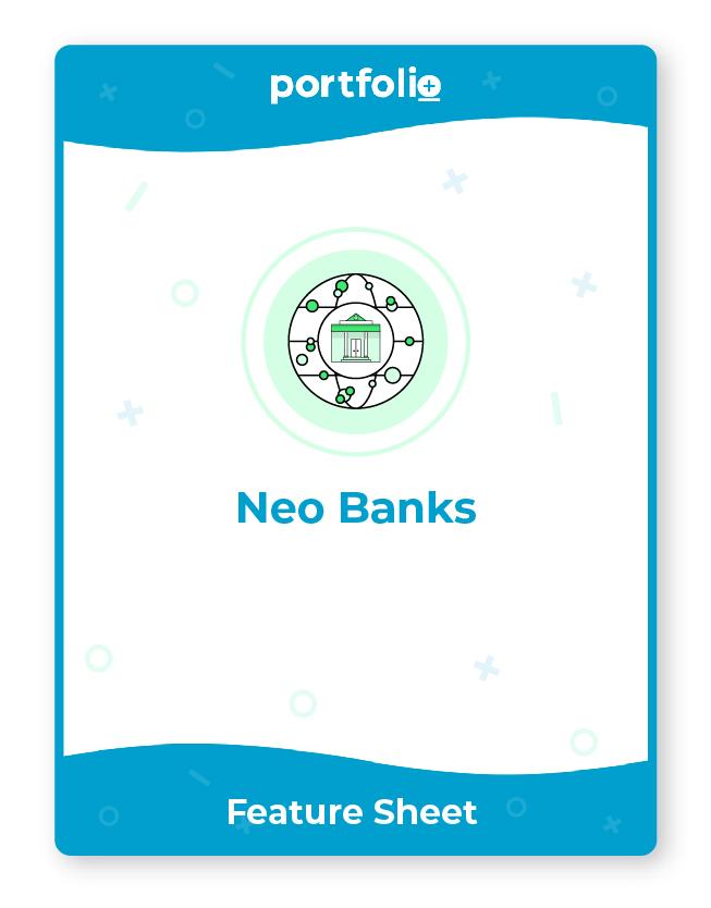 Portfolio+ offers neo bank digital services